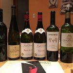Vins dégustés Inter Wine & Dine