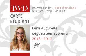 Carte IWD Léna Augurelle