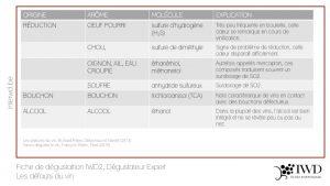 Fiche IWD2 - Défauts du vin - Dégustateur Expert (p2)