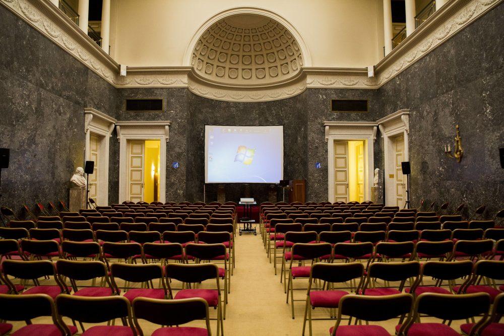 Fabrizio Bucella à l'Académie Royale de Belgique le 14 mars