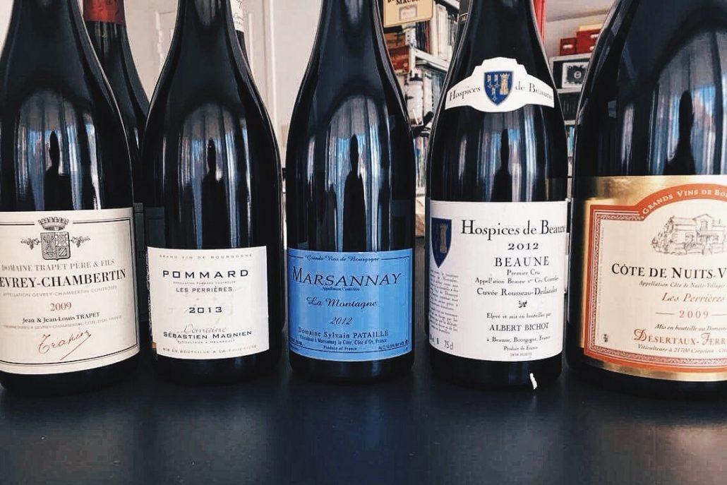 Dégustation de vins de Bourgogne au cycle IWD3