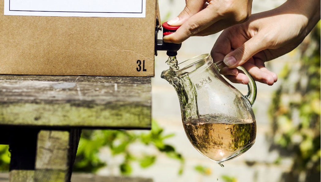 Vin en BIB (Bag-In-Box)