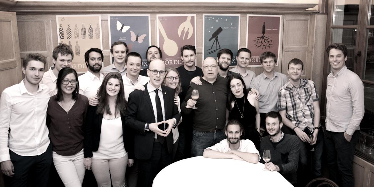 L'équipe de l'école d'œnologie Inter Wine & Dine - IWD