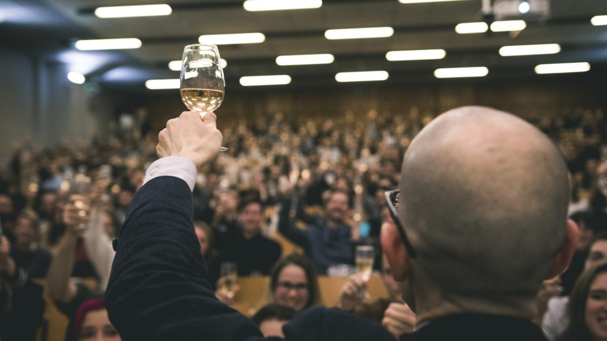 Cours d'oenologie sur les champagnes : Tentative de record du monde le 11 décembre 2018