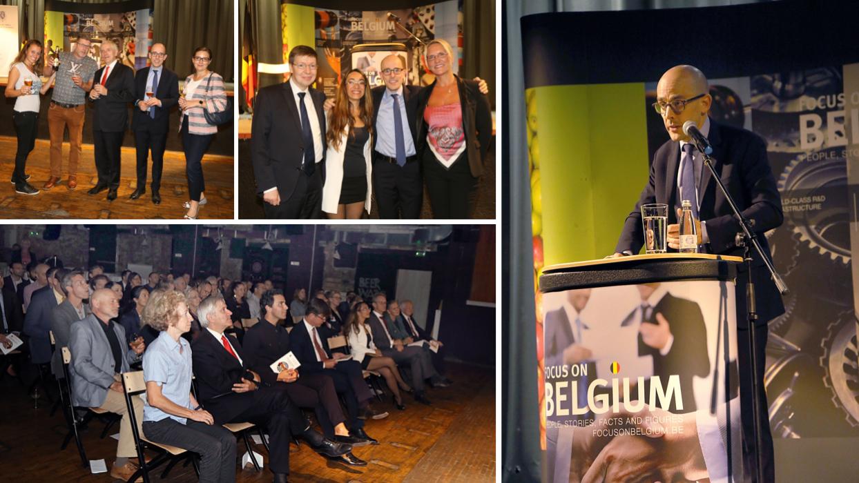 Fabrizio Bucella, ambassadeur des bières belges à Sarajevo